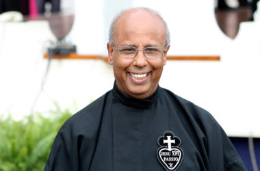 """ANNUNTIO VOBIS GAUDIUM MAGNUM""<br>Election of the Superior General<br>FR. JOACHIM REGO"