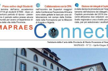 """Bollettino """"MAPRAES Connect""""<br>Aprile – Giugno 2018"""