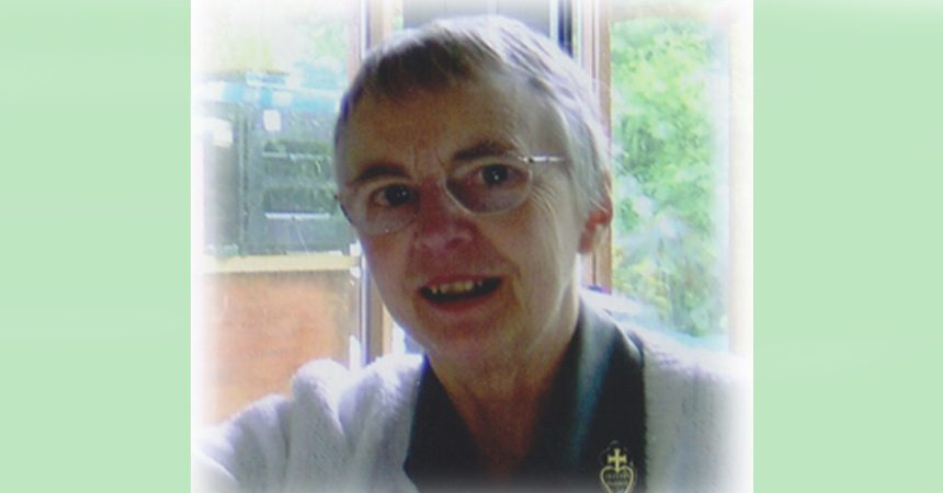 DEATH NOTICE<br>Sr. Julie McGing, CP