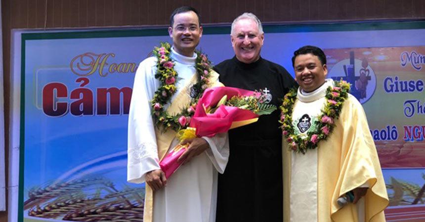 ORDINATION<br>Fr. Nguyen Tan Kiet and Deacon Nguyễn Xuân Vuong (SPIR)