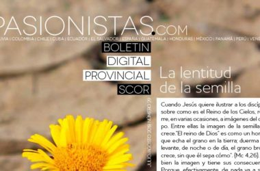 "Boletin ""PASIONISTAS.COM""<br>Julio – Agosto 2018"