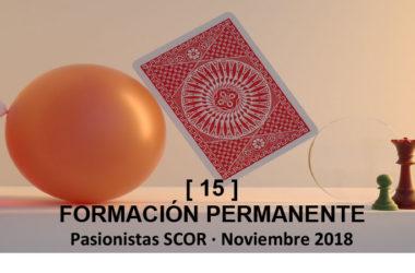 Boletín SCOR: FORMACIÓN PERMANENTE [15]