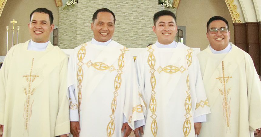 DIACONATE ORDINATION<br>PASS Province