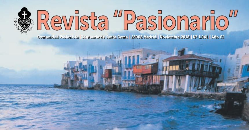 "Revista ""PASIONARIO"" noviembre 2018"