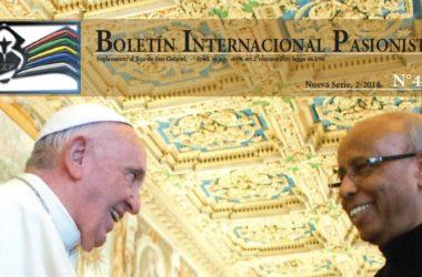 Boletín Internacional Pasionista<br>N°45 (2-2018)