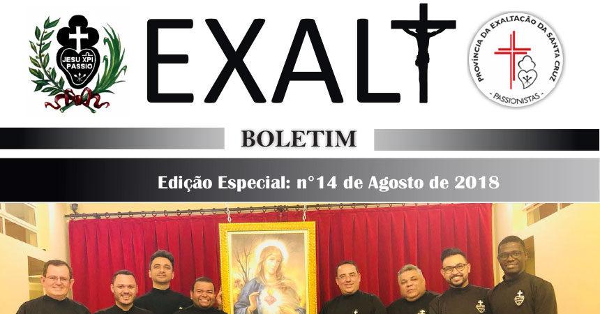 """Boletim de la Provincia """"EXALT"""" Edição ESPECIAL (n° 14)"""