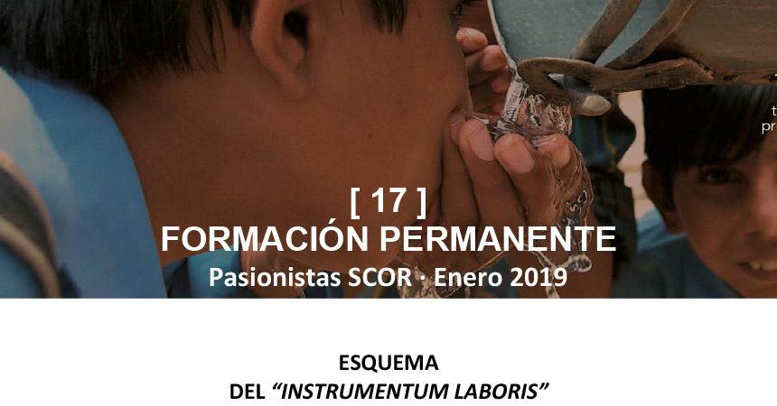 Boletín SCOR: FORMACÍON PERMANENTE [17] – Enero 2019