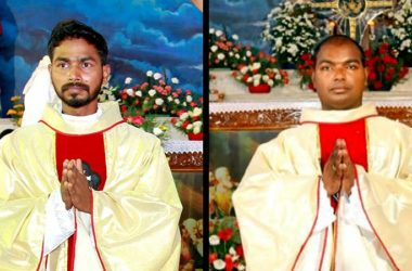 ORDINATION<br>Fr. Jerald Varghese and<br>Fr. Muthappan Silvadhasan (THOM)
