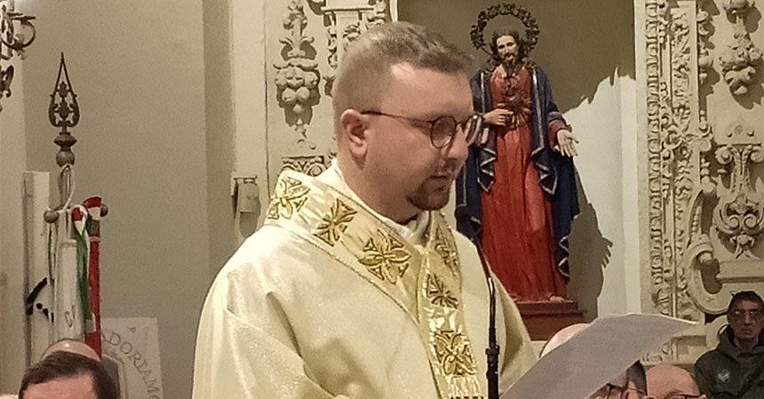 ORDINATION<br>Fr. Marino Longo (MAPRAES)