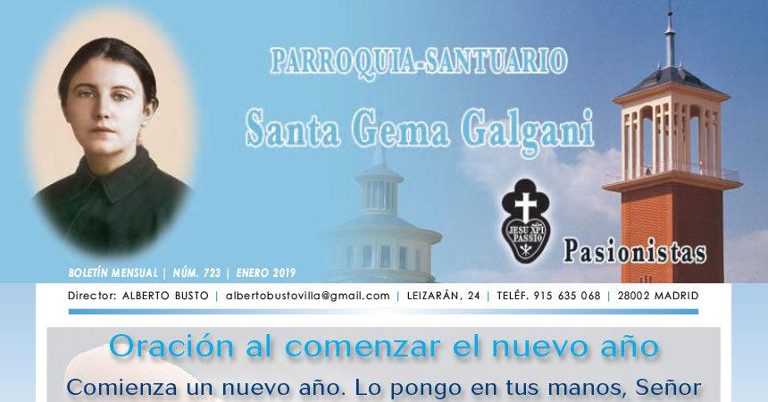 """Revista """"SANTA GEMA"""" Enero 2019"""