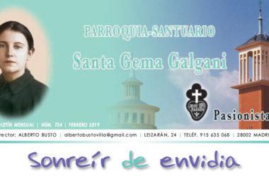 """Revista """"SANTA GEMA"""" Febrero 2019"""