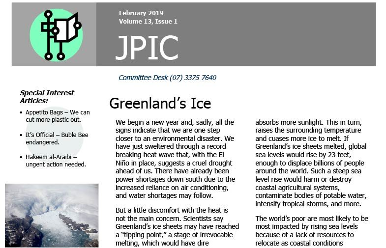 Passionist JPIC Australia<br>February 2019