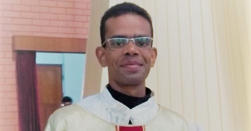 FINAL PROFESSION & DIACONATE ORDINATION<br>Antony John (THOM)