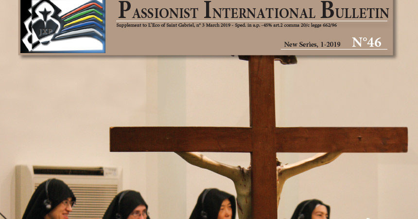 Passionist International Bulletin<br>N°46 (1-2019)