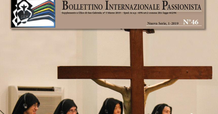 Bollettino Internazionale Passionista<br>N°46 (1-2019)