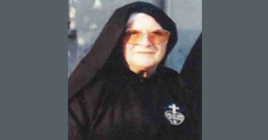 DEATH NOTICE<br>Sr. Esther Del Val Mayor, C.P.