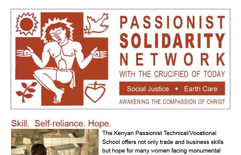PASSIONIST SOLIDARITY NETWORK Newsletter<br>April 2019