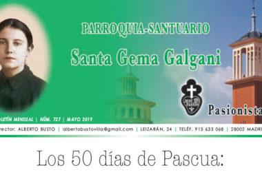 "Revista ""SANTA GEMA"" – Mayo 2019"