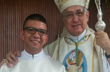 DIACONATE ORDINATION<br>Carlos Bracho (SCOR)
