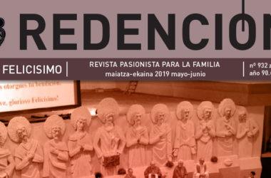 """Revista """"REDENCIÓN""""<br>Mayo – Junio 2019"""