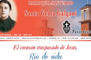 """Revista """"SANTA GEMA"""" – Junio 2019"""