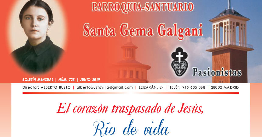 "Revista ""SANTA GEMA"" – Junio 2019"