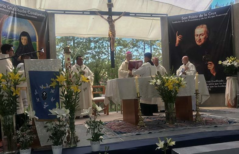 The Passionist Nuns of Querétaro, Mexico<br>25th Anniversary of the monastery