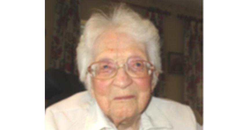 DEATH NOTICE<br>Sr. Agnes Marie Joy, C.P.