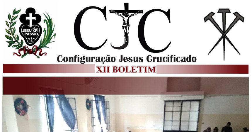 CJC – Configuração Jesus Crucificado<br>XII BOLETIM