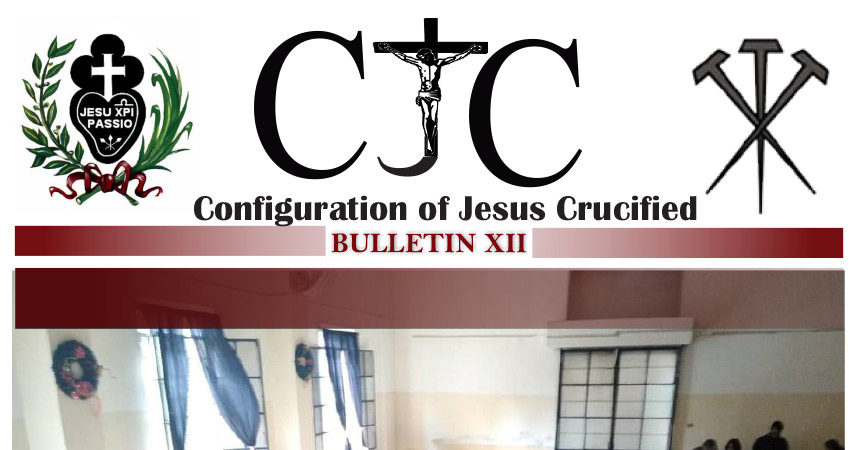 CJC – Configuration of Jesus Crucified<br>BULLETIN XII