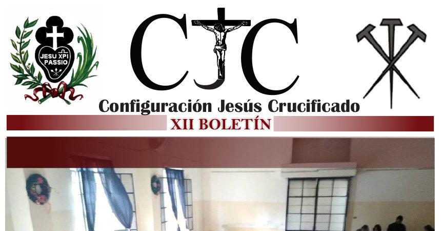 CJC – Configuración Jesús Crucificado<br>XII BOLETÍN