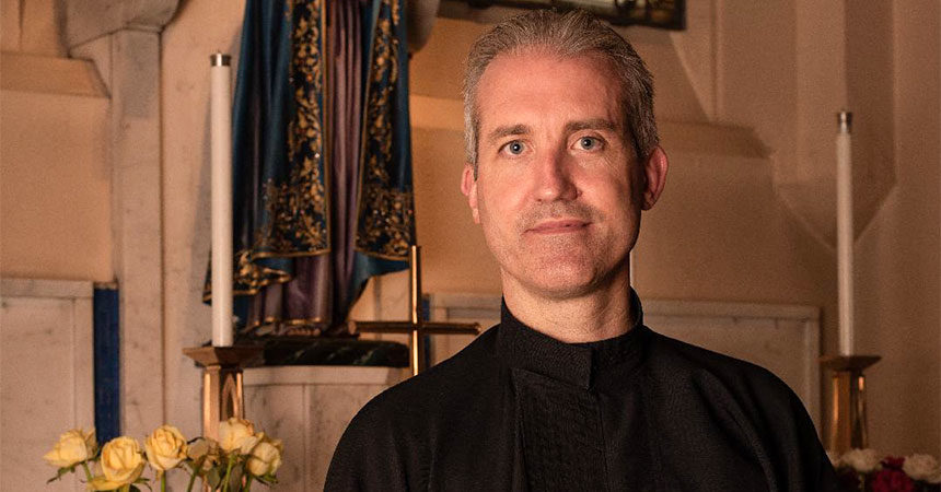 PERPETUAL PROFESSION AND DIACONATE ORDINATION<br>Antony Connelly (PATR)