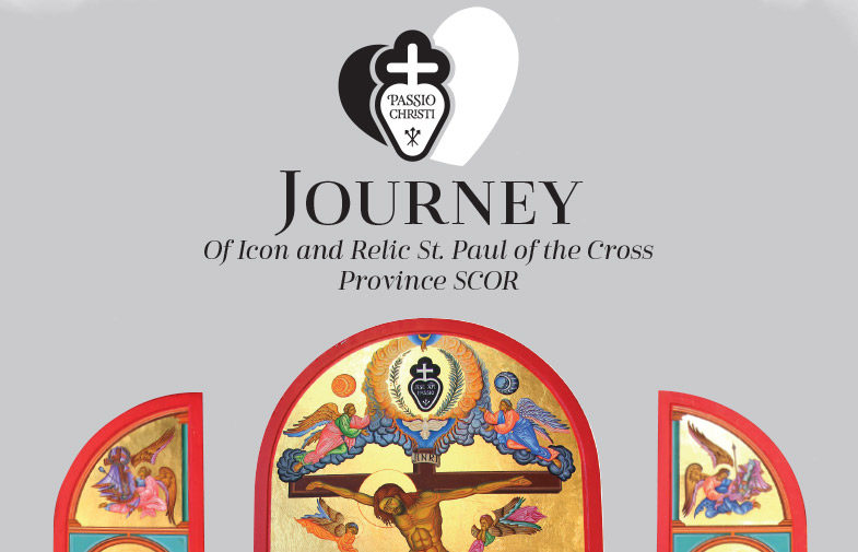 Journey of Icon and Relic St. Paul of the Cross Province SCOR