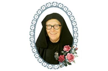 INFORMAZIONE DEL DECESSO<br>Sr. María Jacinta (Izabel Jacob), C.P.