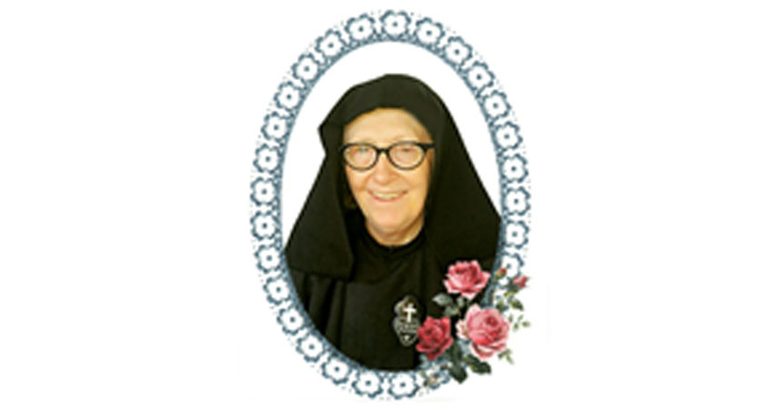 DEATH NOTICE<br>Sr. María Jacinta (Izabel Jacob), C.P.