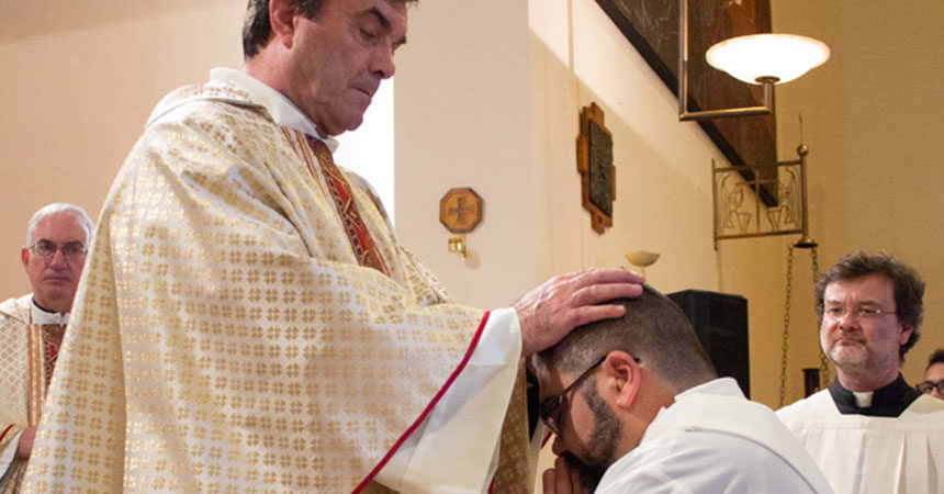 ORDINATION<br>Fr. Alberto Sorcinelli (MAPRAES)