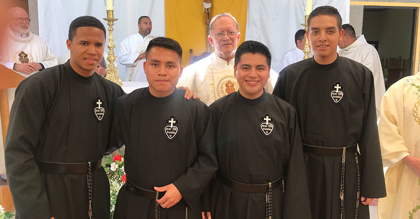 FIRST PROFESSION<br>Julio Cesar Rondón Sánchez, Juan Arcos Gómez, Miguel Angel Zamora Ramírez and José Acosta Barrios (REG)