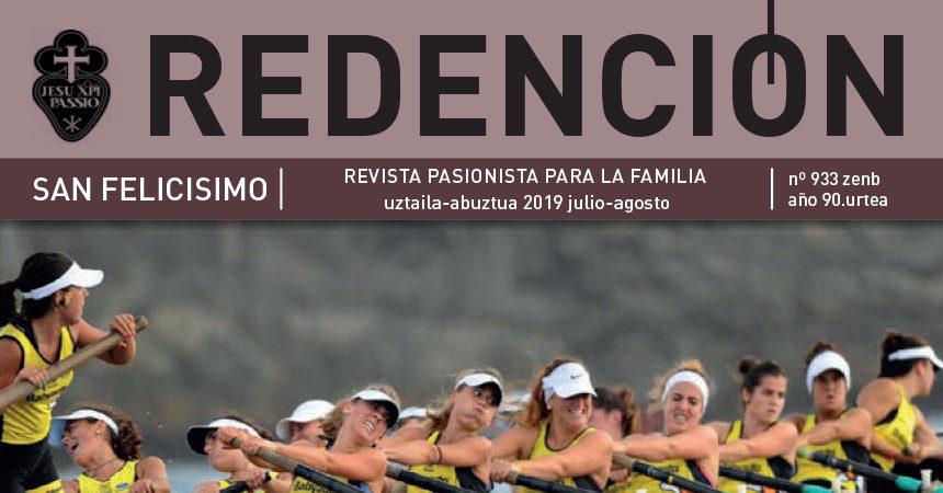 """Revista """"REDENCIÓN"""" julio/agosto – 2019"""