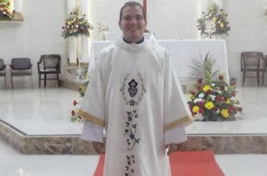 DIACONATE ORDINATION<br>Yamid Jesús Gómez De La Hoz (SCOR)