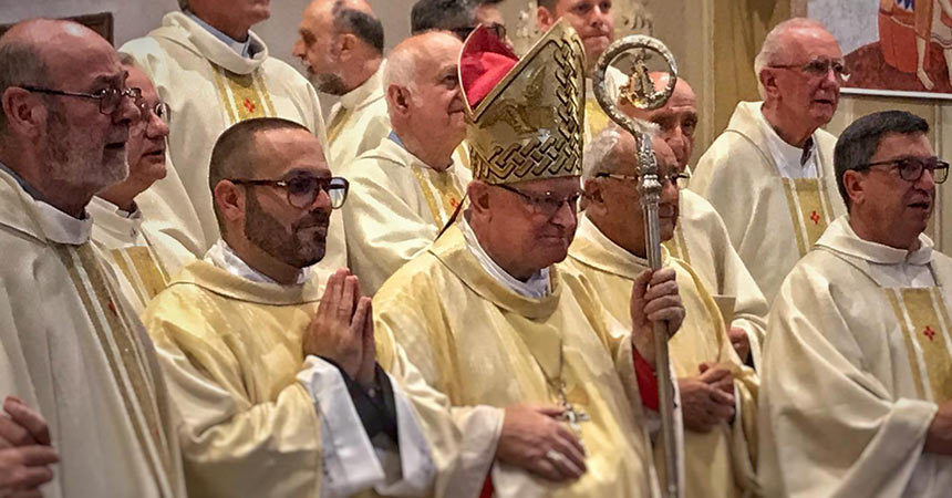 DIACONATE ORDINATION<br>Francesco Leonardi (MAPRAES)