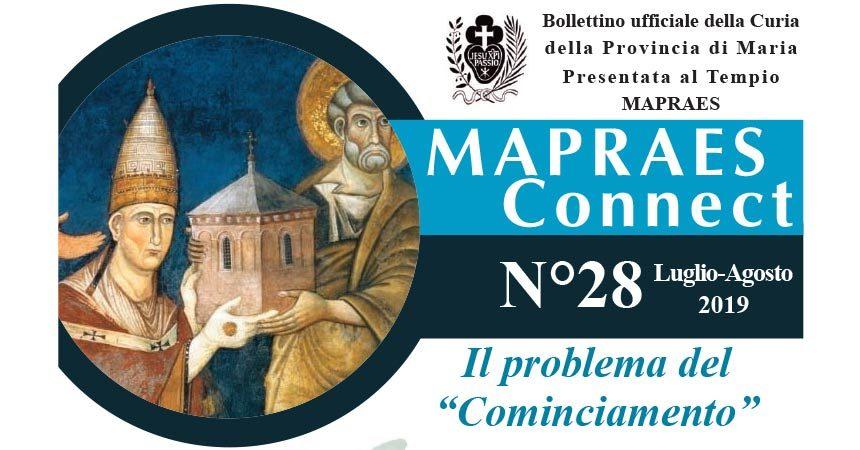 """Bollettino """"MAPRAES Connect"""" – Luglio/Agosto 2019"""