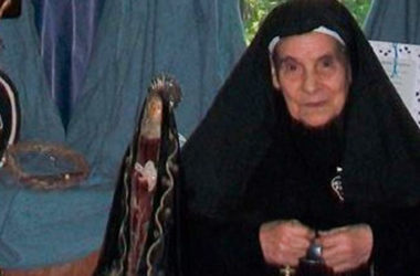 DEATH NOTICE<br>Mother María Matilde Pagni (of Jesus Crucified)