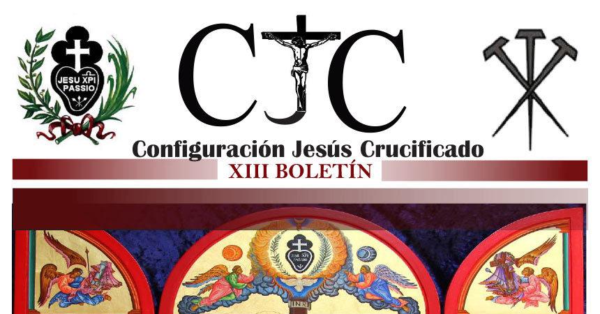 CJC – Configuración Jesus Crucificado<br>XIII BOLETÍN