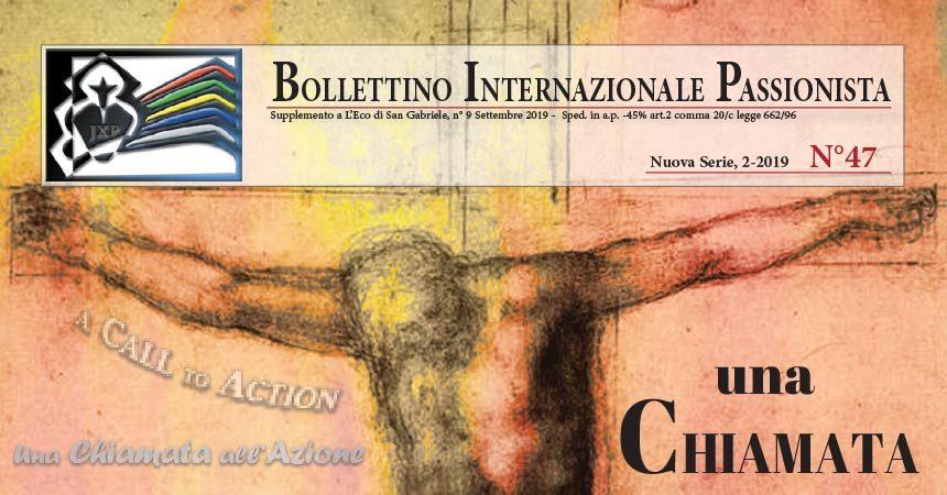 Bollettino Internazionale Passionista<br>N°47 (2-2019)
