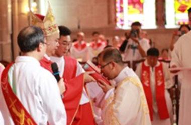 DIACONATE ORDINATION<br>Paul Cun Liang Li (MACOR)