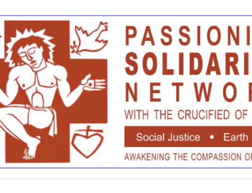 PASSIONIST SOLIDARITY NETWORK NewsletterOctober 2019