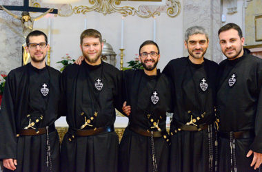 FIRST PROFESSIONS<br>Mirko Stefani, Andrea Pagotto, Giuseppe Antonicelli, Fabio Santoro and Gianluca Mirra (MAPRAES)