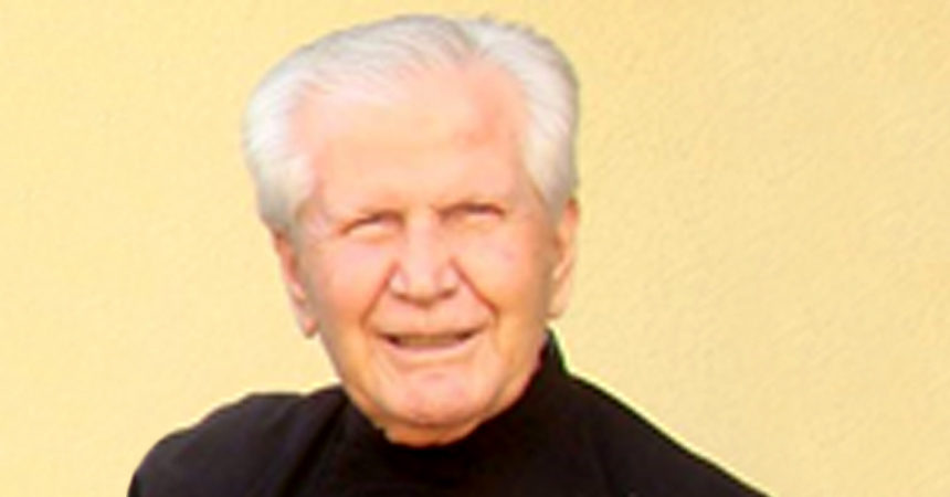 DEATH NOTICE<br>Fr. Alfonso San Juan Martín (CRUC)