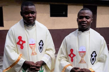 ORDINATION<br>Fr. Athanase Mungenga and Fr. Donatien Mbaku (SALV)