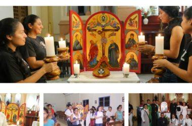 Icono Tercer Centenario en Yurimaguas, Perù